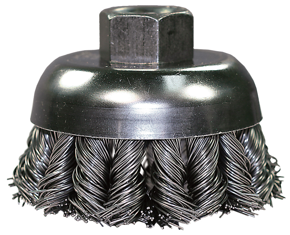 4 COMBITWIST Knot Cup Brush .023 CS Wire 5//8-11